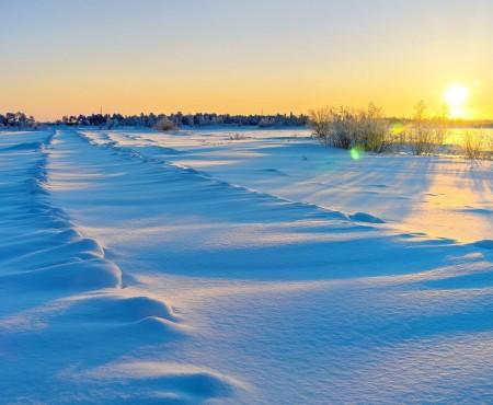 Śnieżna kołdra