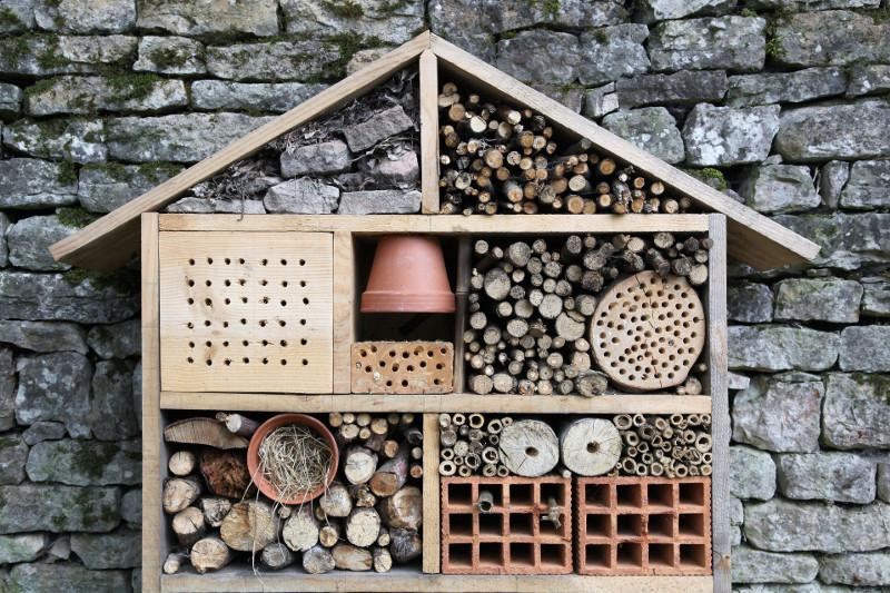 domek dla owad w lovely garden. Black Bedroom Furniture Sets. Home Design Ideas
