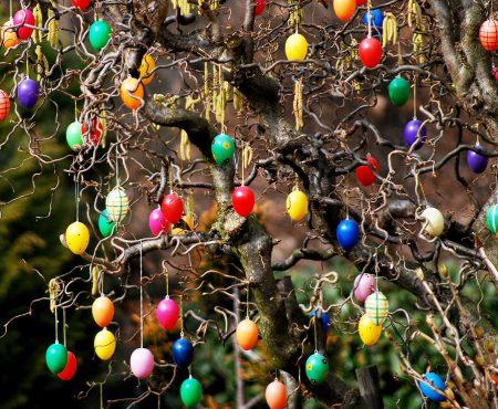 Wielkanocne dekoracje do ogrodu