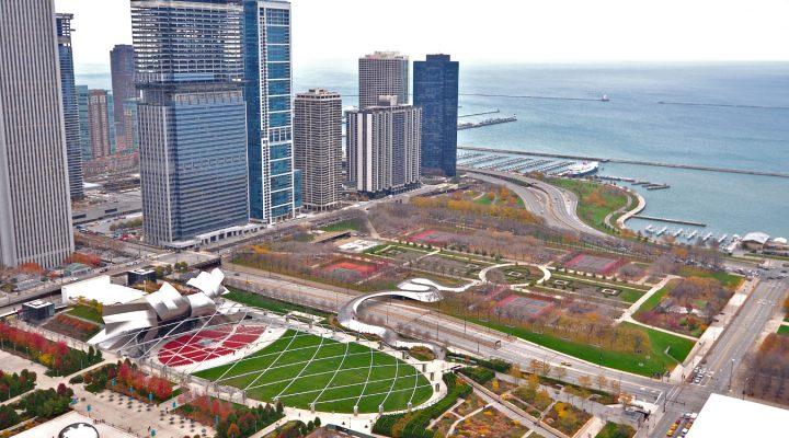 Znane ogrody: Chicago Millennium Park, USA