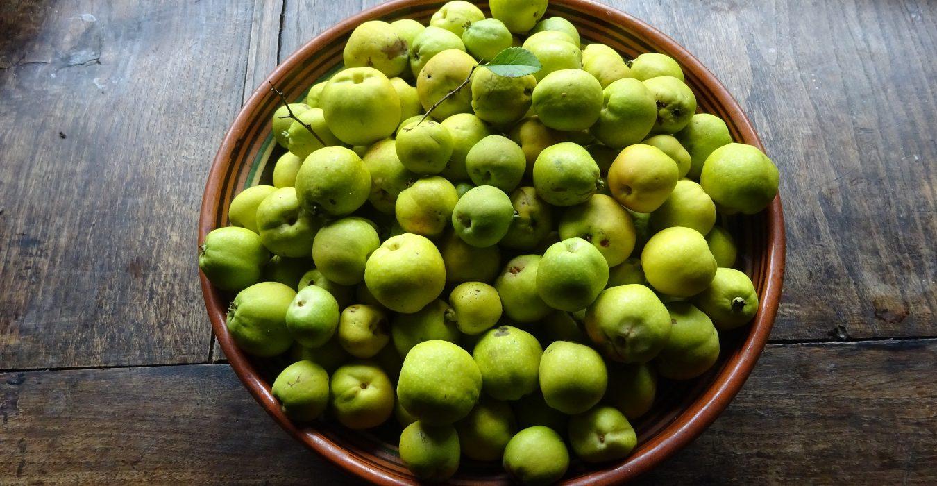 Marmolada z owoców pigwowca