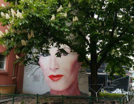 Mural dla Kory w maju